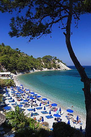 Lemonakia Beach, cerca de Kokkari, Samos, islas del Egeo, Grecia