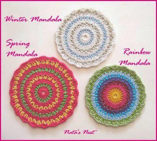 59 best Mandalas images on Pinterest | Häkelzierdeckchen, Stricken ...