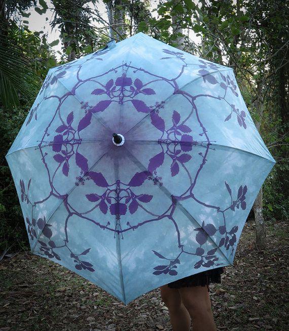 BONSAI Crystalotus print Umbrella shade umbrella wedding