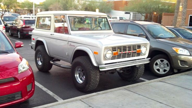 60's & 70's Ford Broncos