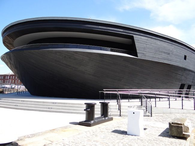 Mary Rose Museum - Portsmouth Historic Dockyard. just had a huge refit and well worth a visit