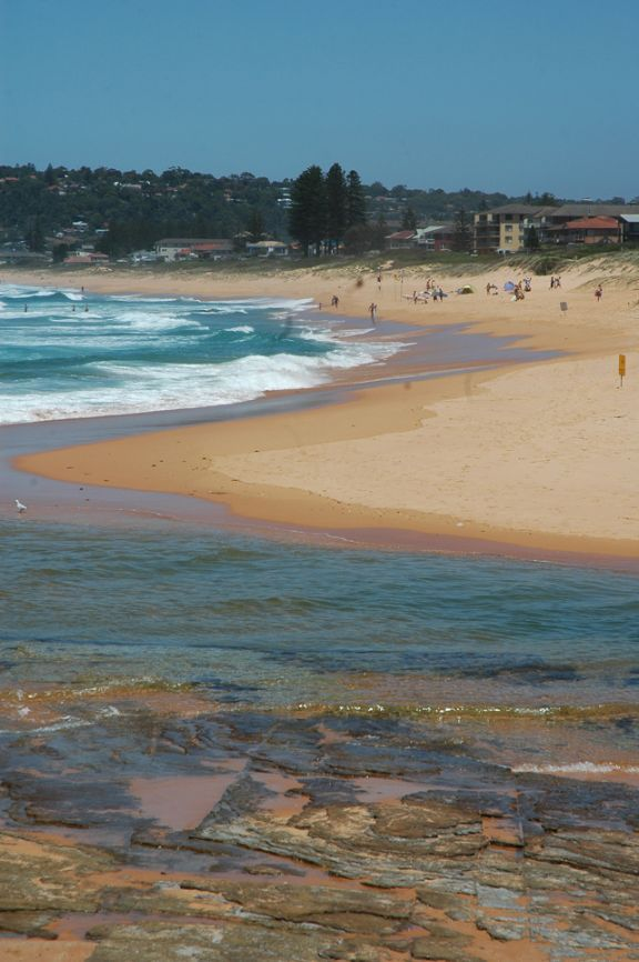 Click here for more information on this photo of Narrabeen Beach. You can buy handmade greeting cards featuring this photo for $4.50 at www.theshortcollection.com.au/Sydney-Beaches