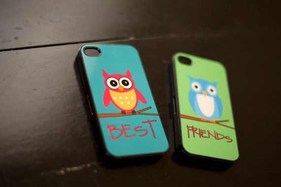 Best Friends OWL iphone case iphone 4/4s by KadyMasonPhotoDesign, $41.00