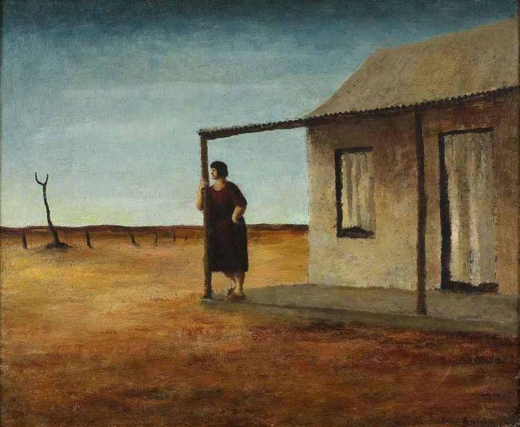 Evening George Russell Drysdale (1912-81) Australia