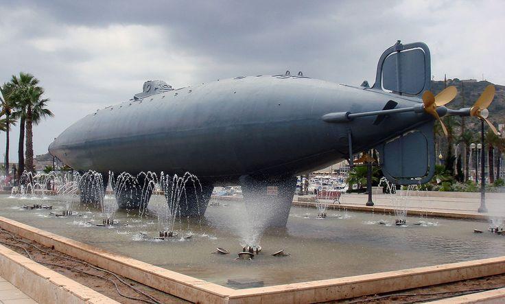 Peral Submarine Cartagena,ES 2007 - Submarino Peral - Wikipedia, la enciclopedia libre