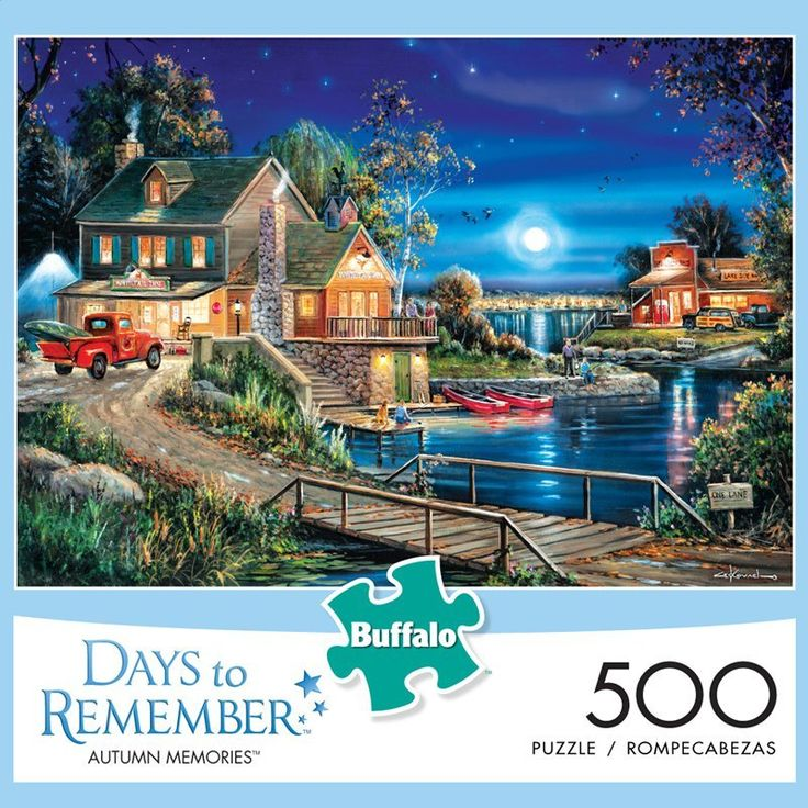 Days to Remember Autumn Memories 500 Piece