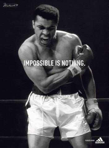 Muhammad Ali....The man was a beast in his prime....