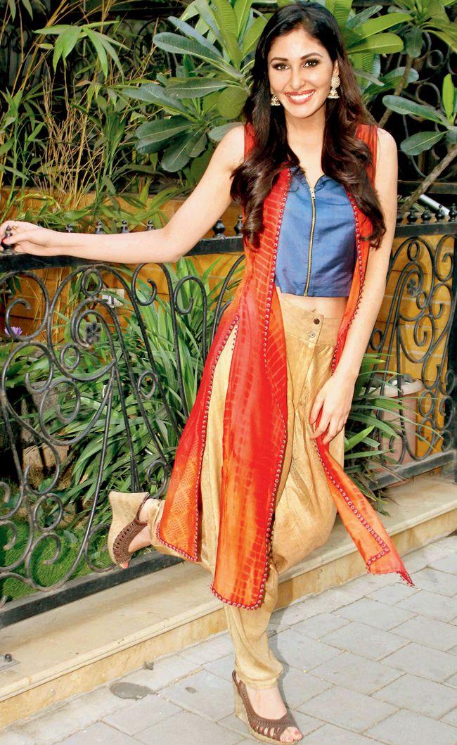 Pooja Chopra at a fashion soiree in SoBo.