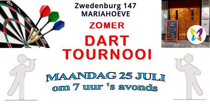 25 Jul – Zomer Darttournooi – MIDDIN Zwedenburg Mariahoeve - http://www.oktip.nl/25-jul-zomer-darttournooi-middin-zwedenburg-mariahoeve/