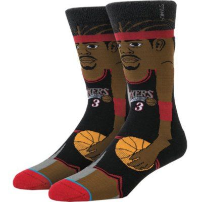 Stance Allen Iverson Cartoon Knee-High Socks