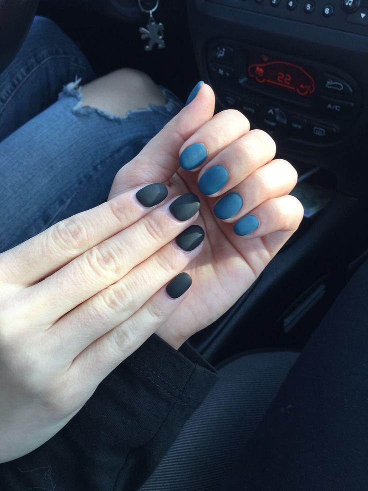 All matte nails