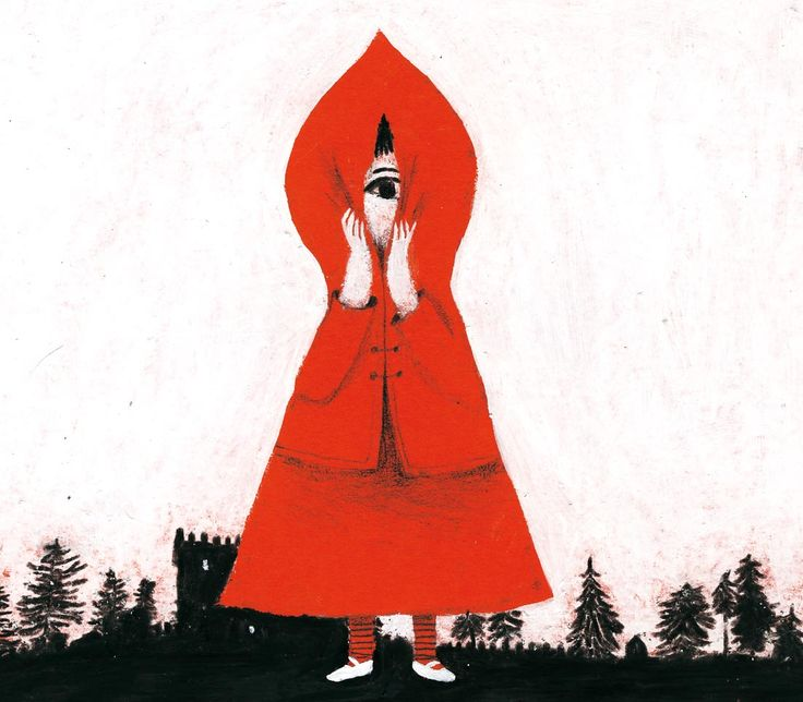 little red Riding Hood by Violeta Lopiz