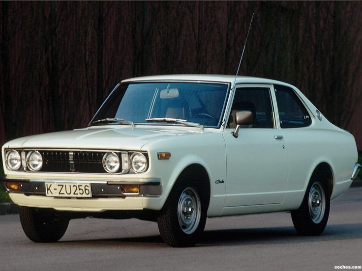 Toyota carina a10 1970 1977 [My first car was a '71 Carina. Junker cost 50 bucks. ~sdh/HHBakes.com]