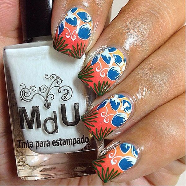 Toe Nail Art Tutorials: 436 Best Spring And Summer Nails Images On Pinterest