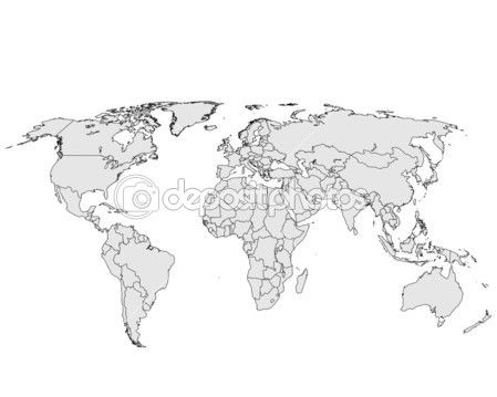 World map — Stock Image #5433067