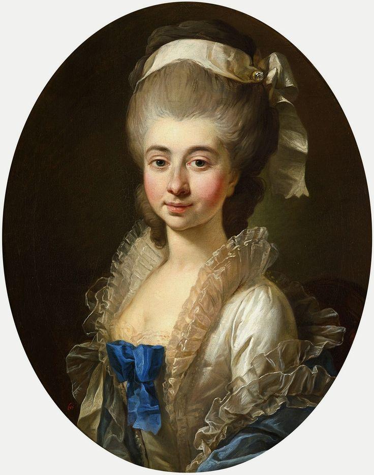 Portrait of Urszula Zamoyska later Mniszech by Marcello Bacciarelli, 1778…