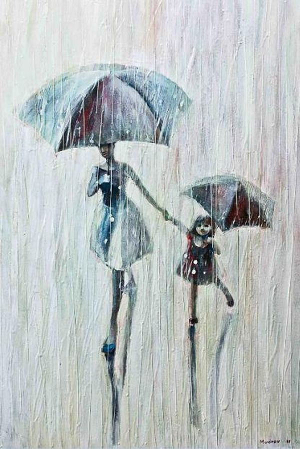 *Amazing Paintings by Igor Mudrov | Cuded Igor Mudrov is a Russia painter who currently lives in USA. Igor created a series of oil on canvas paintings depicting beauty of a particular subject – people walking in the rain.  http://www.igormudrovart.com  https://www.facebook.com/igor.mudrov  https://www.facebook.com/pages/Igor-Mudrov/136316192326  More @ http://groups.google.com/group/ScannedSeries & http://www.facebook.com/ComicsFantasy & http://www.facebook.com/groups/ArtandStuff