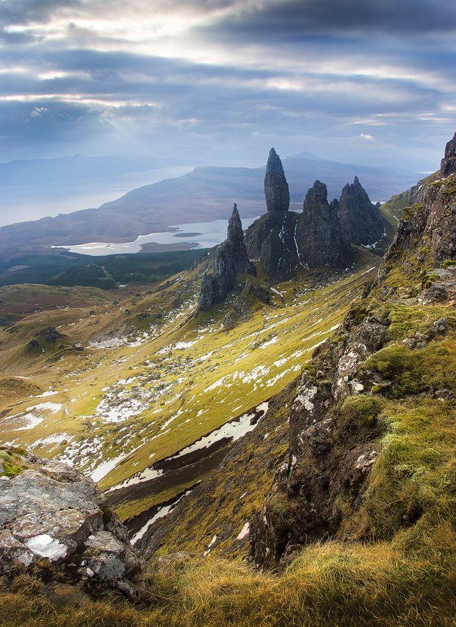 The Old Man Of Storr, Isle Of Skye,Scotland. Estuve pero quiero volver porque aquel día no se veía nada!!!