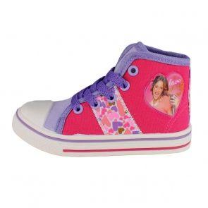 Robe da Cartoon-Violetta Disney-Scarpe in tela Violetta Love Music-20