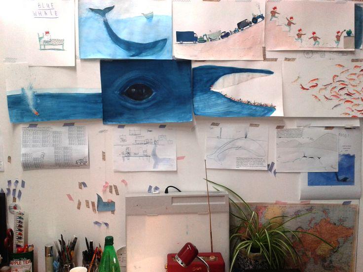 The Blue Whale by Jenni Desmond (Q & A) | Magpie That