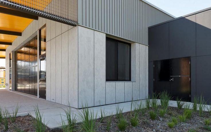 Cemintel Barestone Concrete Sheet Cladding Ts Amp Rd House