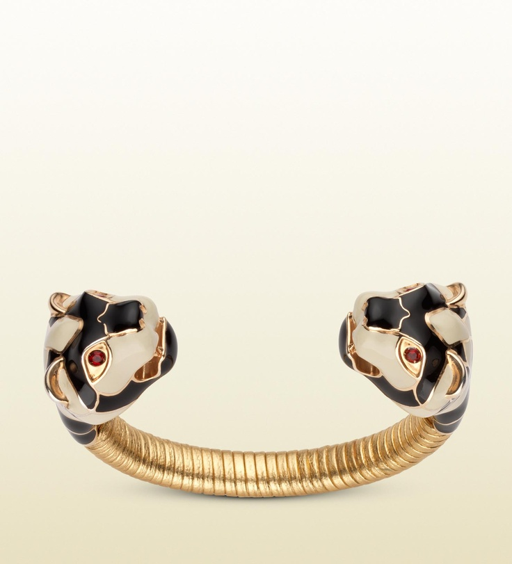 gucci bracelet with tiger heads accessories