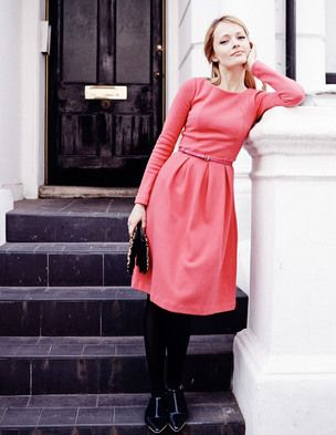 Lindsey Ponte Dress