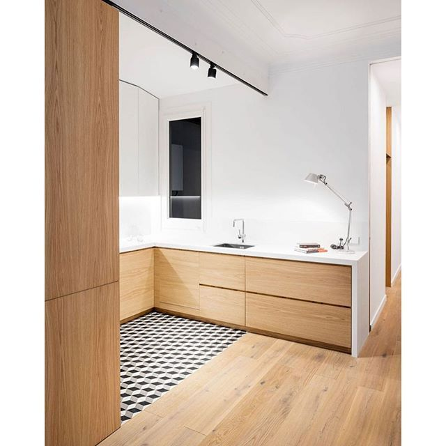 Alanu0027s Apartment Renovation Is A Project Completed By EO Arquitectura. It  Is Located In Barcelona, Spain. #dailyphoto #desiu2026 | Kitchen Remodeling  Ideas ...