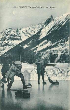 Curling in Chamonix 1920s