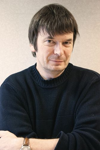 Writer Ian Rankin, London, 6th November 2013