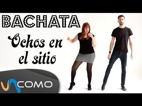 Pasos básicos de la Bachata - Ochos en el sitio - YouTube
