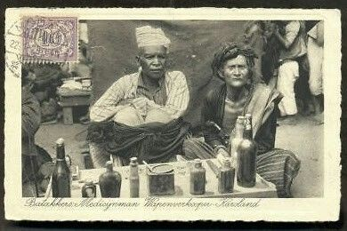 Batak Medicine man - ca. 1929
