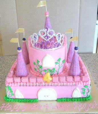 Castle Birthday Cakes 5