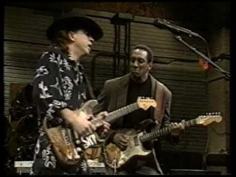 """Crossfire"" - Stevie Ray Vaughan ... live on the David Sanborn show 'Night Music' in Los Angeles, CA on 10.12.1989 ... RIP SRV @ 35 (10/3/1954 – 8/27/1990)"