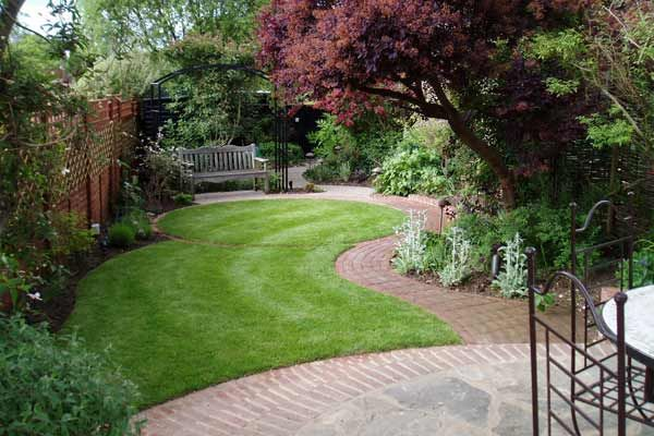 small garden design guildford surrey