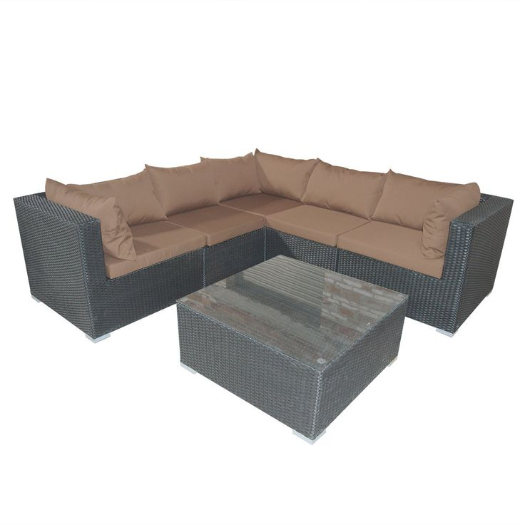 32 best outdoor furniture images on pinterest garden for Amazon ca sectional sofa