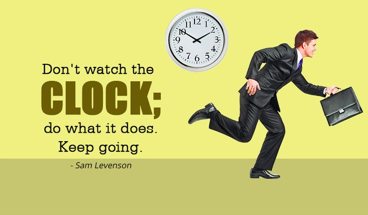 Don't watch the clock; do what it does. Keep going. - Sam Levenson http://www.networkmarketingpaysmebig.com/