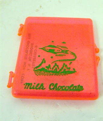 Vintage 1950s Candy Toy Milk Chocolate Cigarettes Container