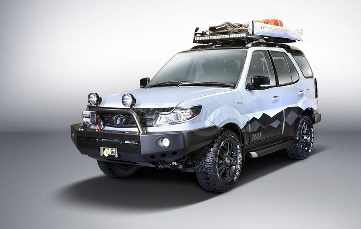 Tata Safari Storme Tuff Edition: http://www.indianhoods.com/news/tata-safari-storme-tuff-auto-expo-2016/