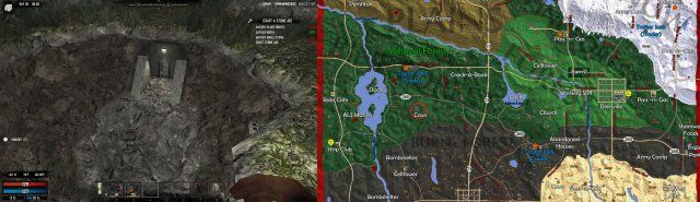 7 Days To Die Navezgane Map And All Places Of Interest Alpha 17 7 Days To Die Day Places Of Interest