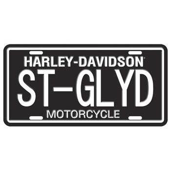 Harley-Davidson Street Glide License Plate