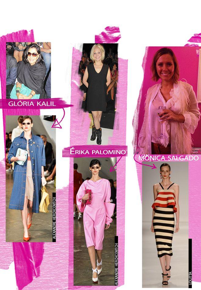 Os Looks Favoritos das Editoras de Moda no SPFW! - Fashion Frisson  Perguntei para as editoras mais famosas quais foram os looks favoritos no SPFW! Tem Glorinha Kalil, Costanza Pascolato, as meninas da Vogue e muito mais!  http://www.fashionfrisson.com/looks-editoras-de-moda-spfw/