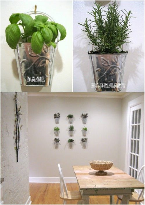 Urban Herb Garden Ideas Part - 27: 18 Creative DIY Herb Gardens 11
