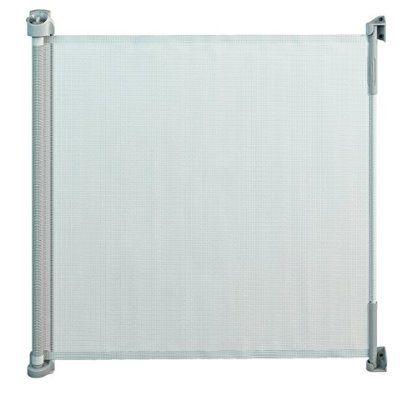 Gaterol Active Lite Blanc - Barrière de sécurité store extensible pour escalier et porte jusqu'à 140 cm de couverture