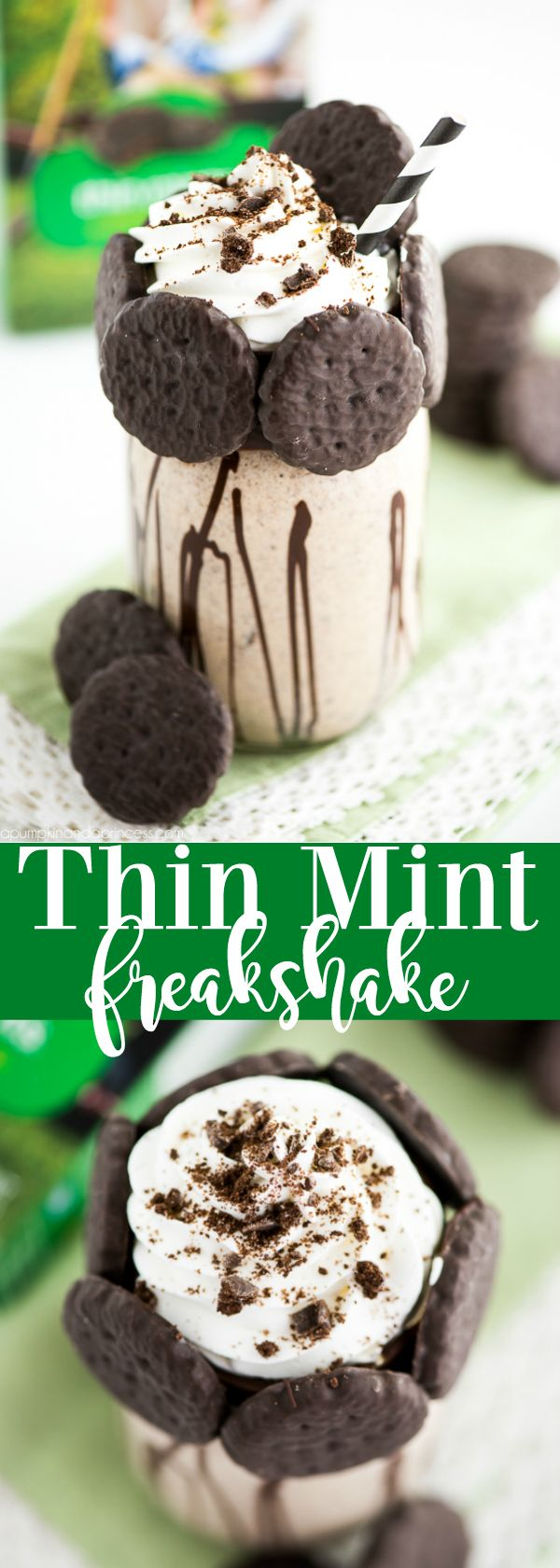 Thin Mint Freakshake Recipe