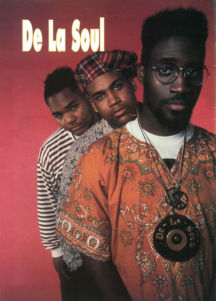 De La Soul - these guys were ahead of their time...