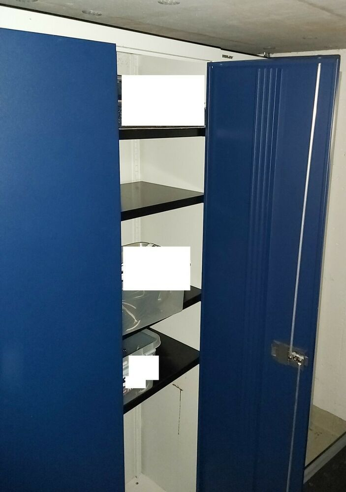 Bisley Aktenschrank Aus Metall Blau E782a04 645 Aktenschrank