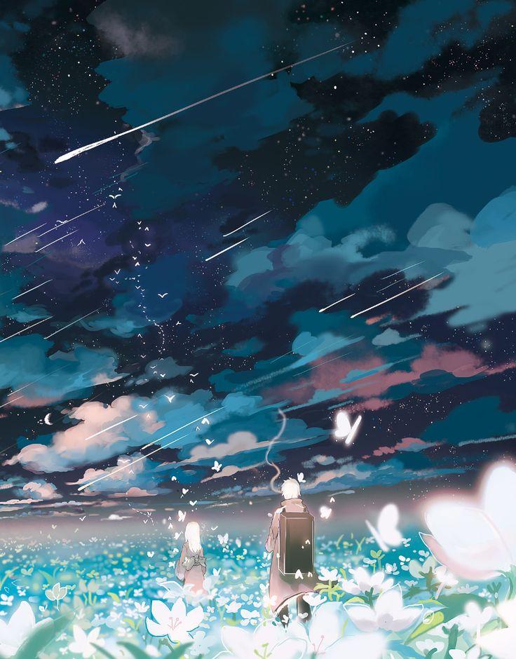 Mushishi | Artland | Yuki Urushibara / Ginko and Nui / 「✿」/「幻電放映」の漫画 [pixiv] [02]