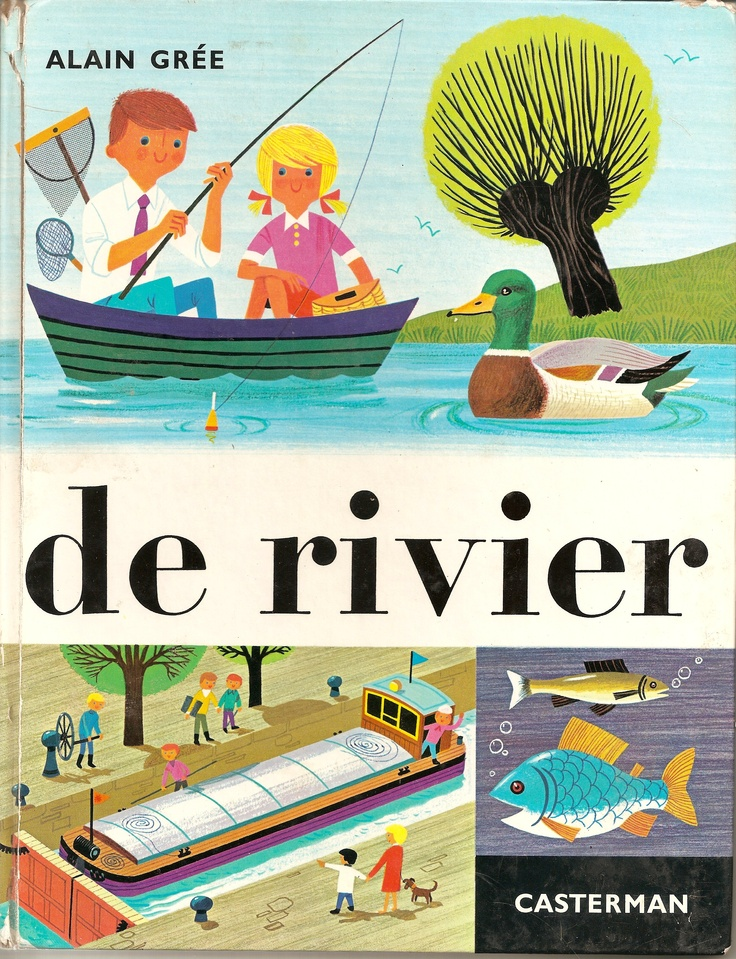 De rivier - Alain Grée 1966 (from my personal collection)