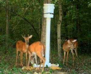 Homemade deer feeder